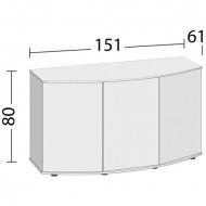 Masa pentru acvariu, Juwel Vision 450, Neagra