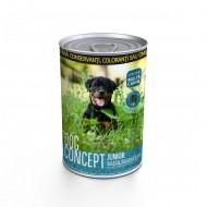 Hrana umeda pentru caini, Dog Concept, Junior 415 G