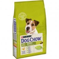 Hrana uscata pentru caini, Dog Chow, Talie Mica Adult, Pui, 7,5 Kg