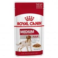 Hrana umeda pentru caini, Royal Canin, Medium Adult, 140 G