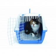 Cusca transport pentru pisici, Pet Expert, Smart, 56 CM, Albastru