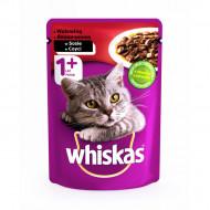 Hrana umeda pentru pisici, Whiskas, Vita in Sos, 100G
