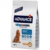 Hrana uscata pentru caini, Advance, Medium Adult ,14 Kg