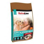 Hrana uscata pentru caini, Nutraline Dog Puppy&Junior Maxi, 12.5 Kg