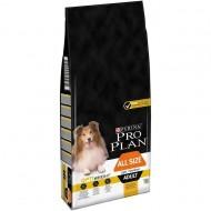 Hrana uscata pentru caini, Pro Plan, Adult Light Sterilised All Size, 14 kg