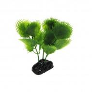 Plante plastic acvariu, Resun, Palm Leaf Green, 8 CM