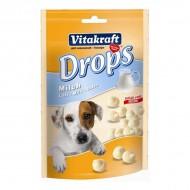 Recompensa pentru caini, Vitakraft, Drops cu lapte, 75 G