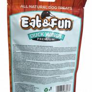Recompense pentru caini, Eat&Fun, Duck Wings, 100 G