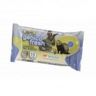 Servetele umede pentru rozatoare, Ferplast, Genico Fresh, Talc
