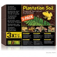 Asternut reptile, Exo Terra, Plantation Soil , 8,8 L x 3 buc, PT2771