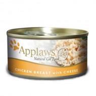 Hrana umeda pentru pisici, Applaws, Piept Pui si Branza, 70 g