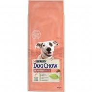 Hrana uscata pentru caini, Dog Chow, Sensitive Salmon, 14 kg