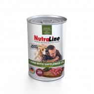 Hrana umeda pentru caini, Nutraline, Dog Adult Monoprotein Miel Ulei de Sofranel, 400 G