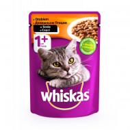Hrana umeda pentru pisici, Whiskas, Pasare in Sos, 100G