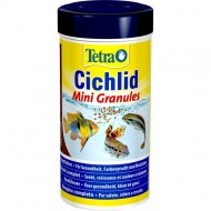 Hrana pentru pesti acvariu, Tetra, Cichlid Mini Granule, 250ml