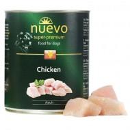 Hrana umeda pentru caini, Nuevo, Pasare, conserva 800 g