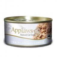 Hrana umeda pentru pisici, Applaws, Ton si Branza, 156 g