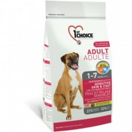 Hrana uscata pentru caini, 1ST Choice, Dog Adult All Breeds Sensitive Skin & Coat, 15 Kg