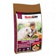 Hrana uscata pentru caini, Nutraline, Dog Adult Grain Free, 12.5 Kg