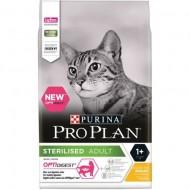 Hrana uscata pentru pisici, Pro Plan, Sterlized Cat cu Pui, 10kg