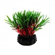 Plante plastic acvariu, Resun, Sea Grass, Red/Green, 10cm