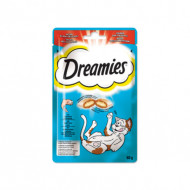 Recompense pentru pisici, Dreamies, Somon Savuros, 60G