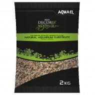 Substrat pentru acvariu, Aquael Nisip Multicolor, 1.4-2.0 mm, 2 KG