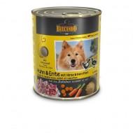 Hrana umeda pentru caini, Belcando, Pui cu Rata si Mei, 400 G