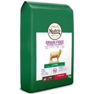 Hrana pentru caini, Nutro, Grain Free Adult Mini cu Miel, 7 Kg