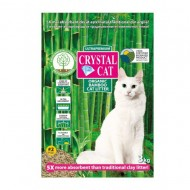 Asternut igienic pentru pisici, Crystal Cat Bamboo NR 2 Granulat, 3 KG