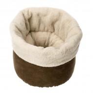 Culcus pentru pisica, Ferplast, Pouf