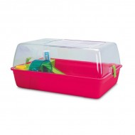 Cusca pentru rozatoare, Pet Expert, Hamster Fun, 55 CM, Fuchsia