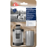 Dispozitiv pungi igienice, 8in1 Poop Patrol Dispenser & 30 Refill Bags