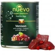 Hrana umeda pentru caini, Nuevo, Caprioara, conserva 800 g