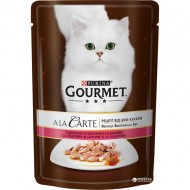 Hrana umeda pentru pisici, Gourmet A La Carte, Pastrav si Legume in sos, 24 X 85g