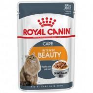 Hrana umeda pentru pisici, Royal Canin, Intense Beauty, 85 g