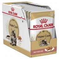 Hrana umeda pentru pisici, Royal Canin, Maine Coon Pouch, 12x85 g