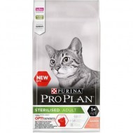 Hrana uscata pentru pisici, Pro Plan, Sterilised Optisenses, Somon, 10Kg