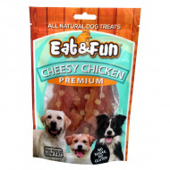 Recompense pentru caini, Eat&Fun, Cheesy Chicken, 100 G