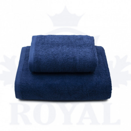 Poze Set 2 Prosoape Royal Albastru 600gr/mp
