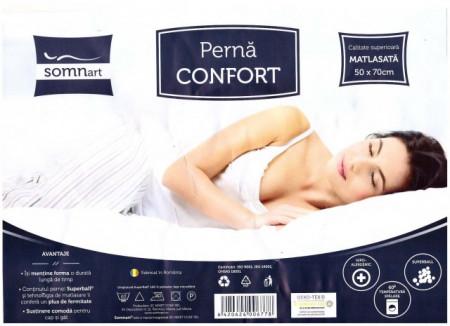 Poze Perna Confort Microfibra 50x70