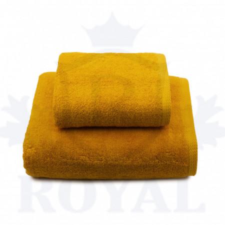 Poze Set 2 Prosoape Royal Gold 600gr/mp