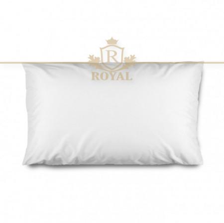 Protectie Perna Royal Home, Interlock , Impermeabila, 50 x 70 cm, Alb