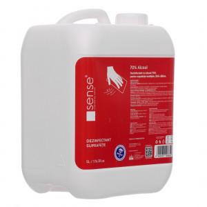Dezinfectant suprafete RTU 70% Alcool 5L, Sense