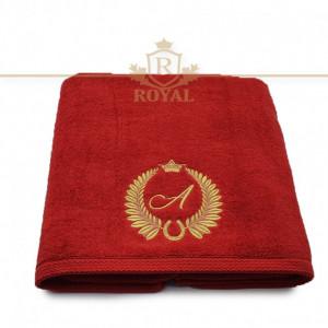 Prosop Royal 600gr/mp-Brodat cu Monograma-Litera la Alegere