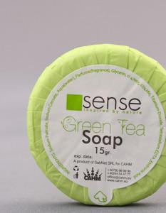 Sapun Green Tea 15 gr - set 100 bucati