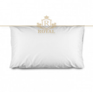 Protectie Perna Royal Home, Interlock , Impermeabila, 70 x 70 cm, Alb