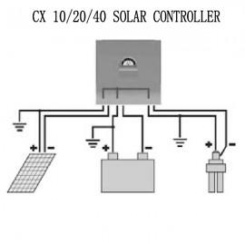Regulator de incarcare solar Phocos CX 12-24V 40A
