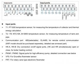 Controler panou solar automatizare SR288 pentru sistem solar presurizat