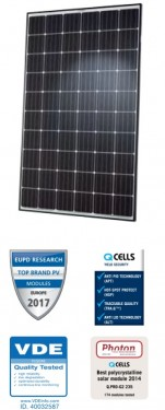 Panou solar monoscristalin Q-Cells 300 Wp